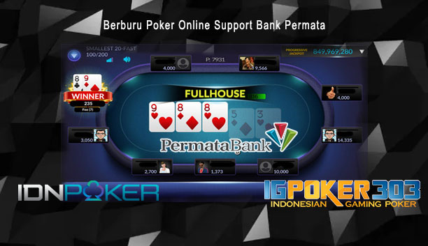 Poker Online Support Bank Permata